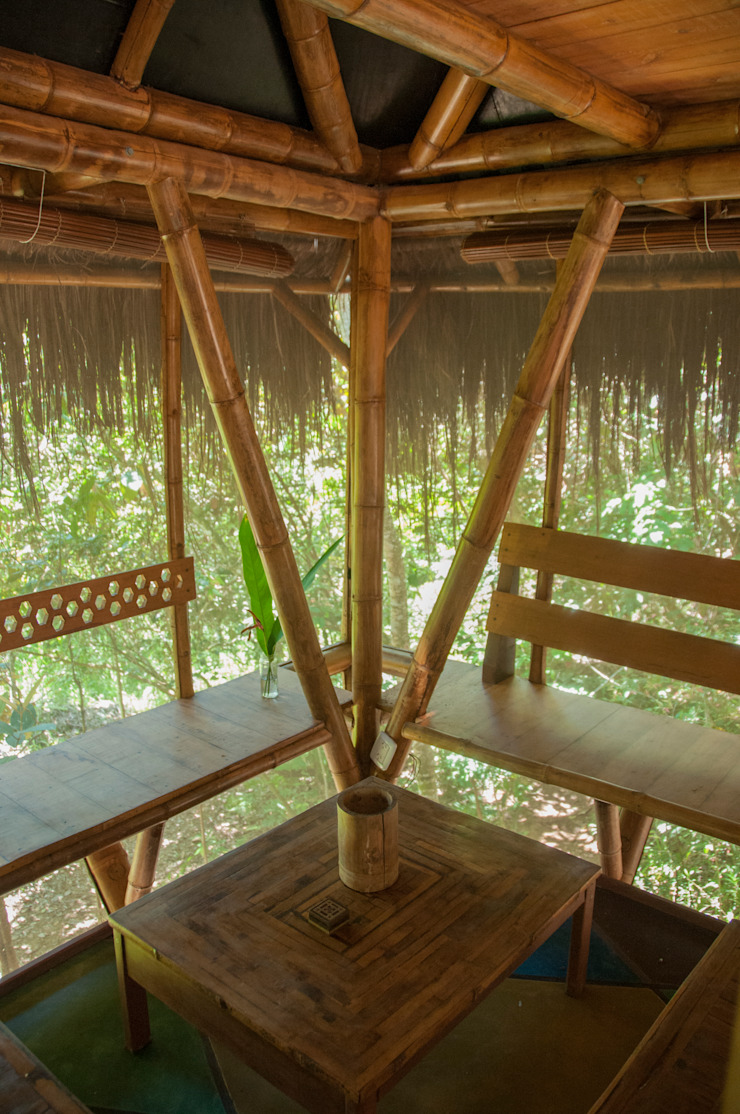 tropical  by IR arquitectura, Tropical Bamboo Green