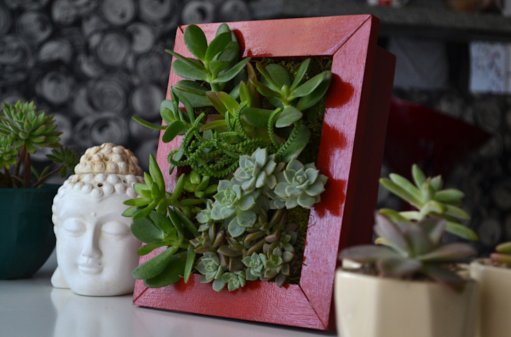 Kentia Decosustentable: minimalist tarz , Minimalist Ahşap Ahşap rengi