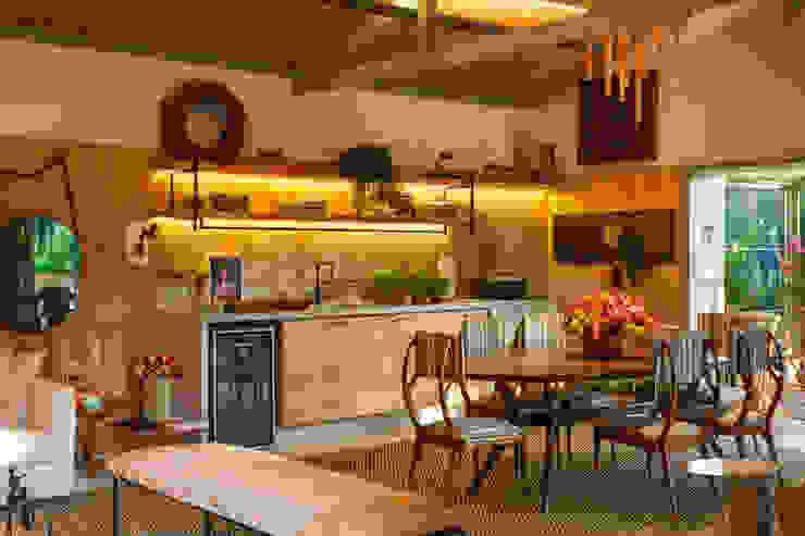 Marina Linhares Decoração de Interiores Tropische Küchen