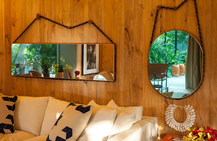 Marina Linhares Decoração de Interiores Salones tropicales