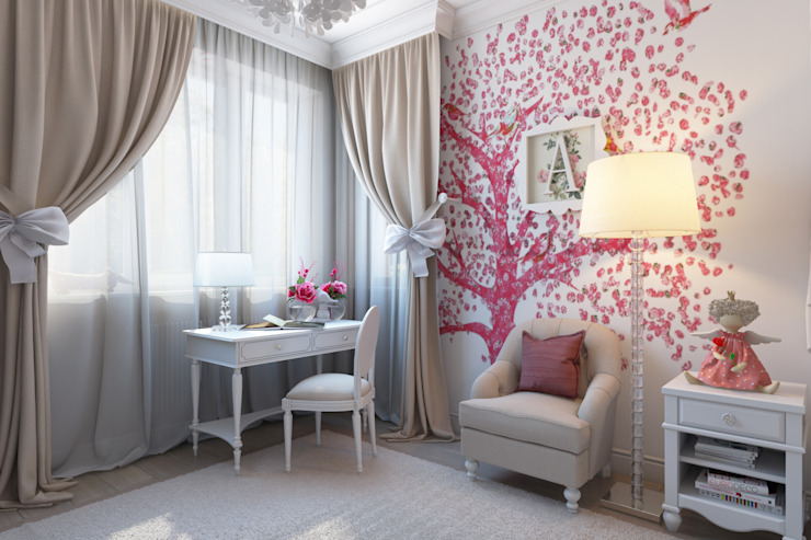 Eclectic style nursery/kids room by СВЕТЛАНА АГАПОВА ДИЗАЙН ИНТЕРЬЕРА Eclectic