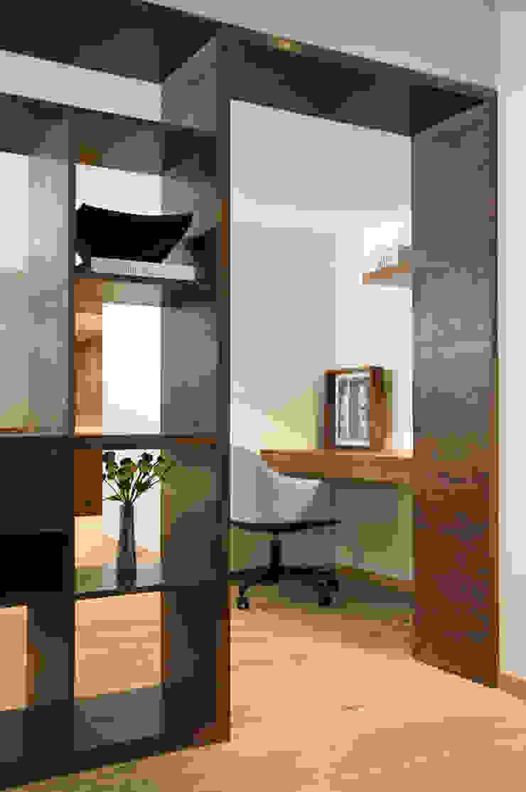 Loft2 Estudios y despachosescandinavos de Basch Arquitectos Escandinavo Madera Acabado en madera