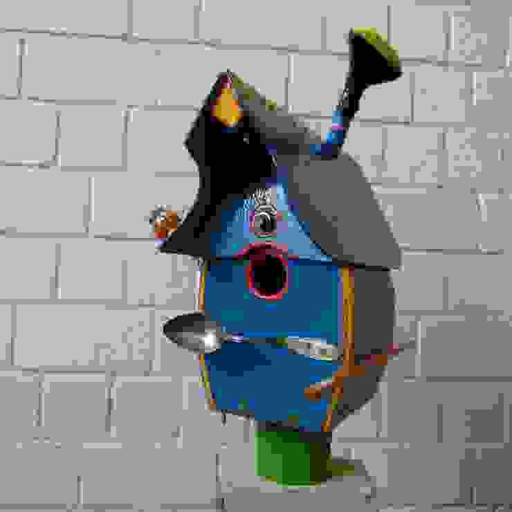 Vogelvilla werkstatt+atelier petra hemmers GartenAccessoires und Dekoration Mehrfarbig