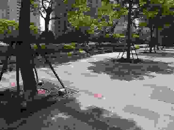 上海張楊浜江花園 オリジナルな 庭 の 株式会社日本総合計画研究所 オリジナル