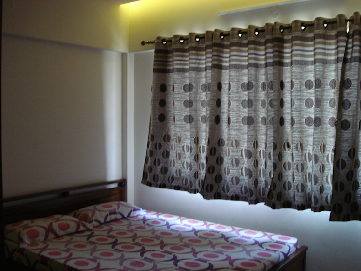 3bhk Residential Flat at Dhanori Modern style bedroom by Global Associiates Modern