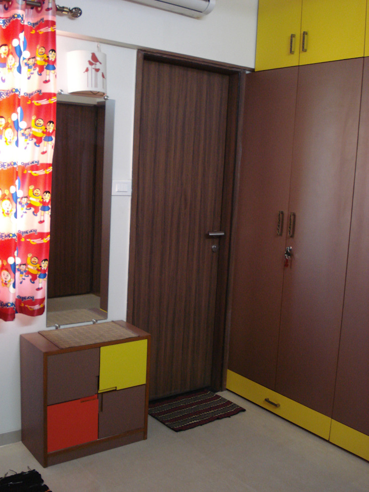 3bhk Residential Flat at Dhanori Modern nursery/kids room by Global Associiates Modern