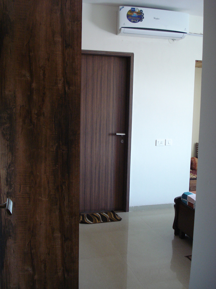 3bhk Residential Flat at Dhanori Modern corridor, hallway & stairs by Global Associiates Modern