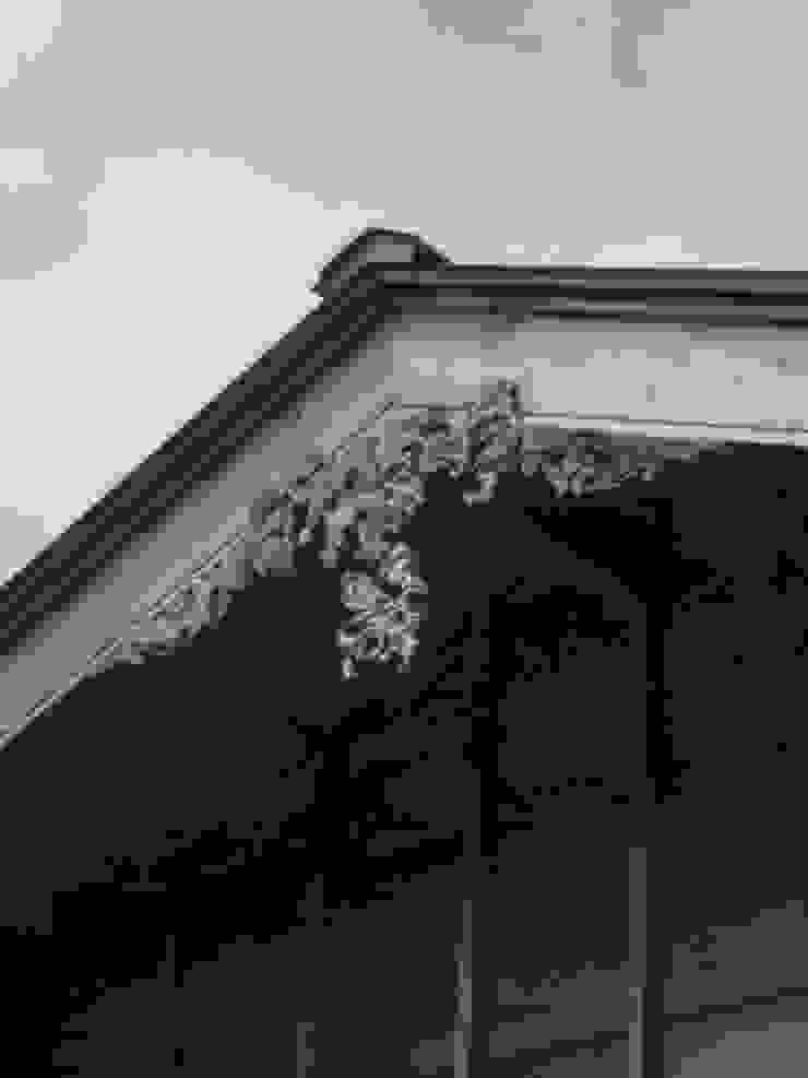 棟飾り 日本家屋・アジアの家 の 一級建築士事務所マチデザイン 和風 木 木目調
