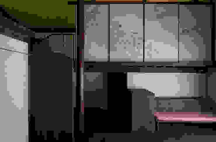内観 和風デザインの リビング の 一級建築士事務所マチデザイン 和風 木 木目調