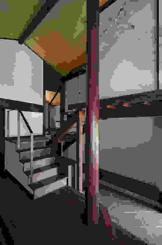 内観 和風の 玄関&廊下&階段 の 一級建築士事務所マチデザイン 和風 木 木目調