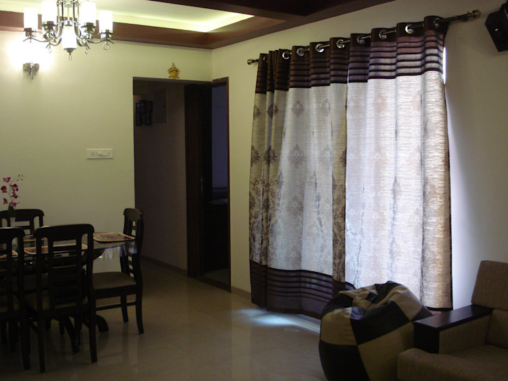 3bhk Residential Flat at Dhanori Modern dining room by Global Associiates Modern