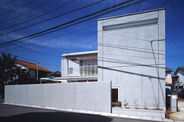 緑と空につながる家 ミニマルな 家 の 新野裕之建築設計 Hiroyuki Niino Architecture ミニマル