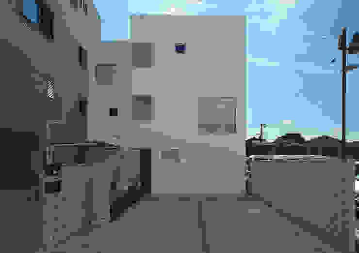 Maisons modernes par 大野アトリエ Moderne