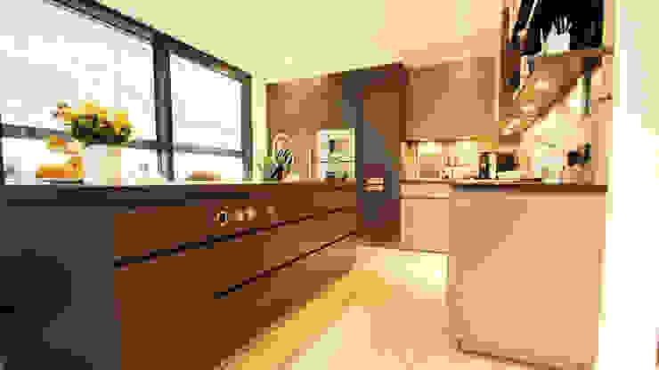Haus M Moderne Küchen von moser straller architekten Modern