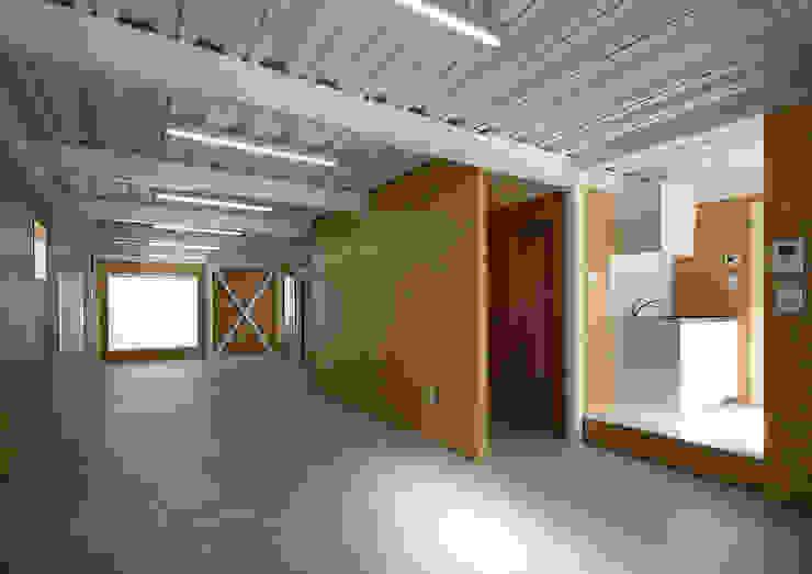Bureau moderne par 大野アトリエ Moderne OSB