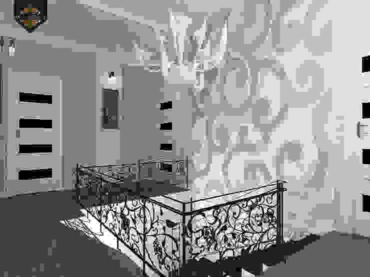 ар деко и поп-арт Коридор, прихожая и лестница в эклектичном стиле от Decor&Design Эклектичный
