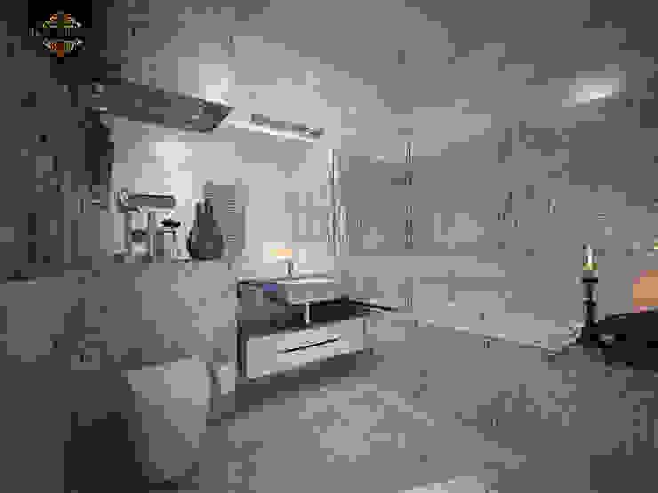 ар деко и поп-арт Ванная комната в эклектичном стиле от Decor&Design Эклектичный
