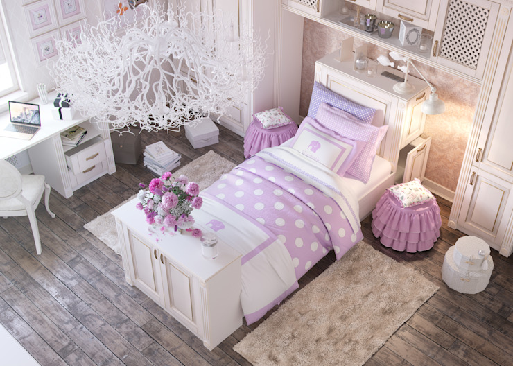 Klasyczny pokój dziecięcy od Дмитрий Каючкин Klasyczny