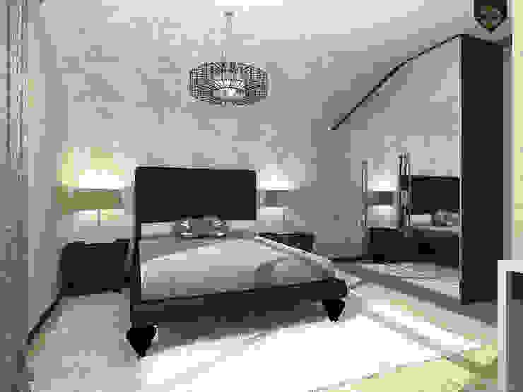 ар деко и поп-арт Спальня в эклектичном стиле от Decor&Design Эклектичный