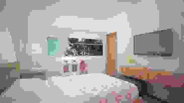 Modern Yatak Odası Ana Corcuera Interiorismo Modern