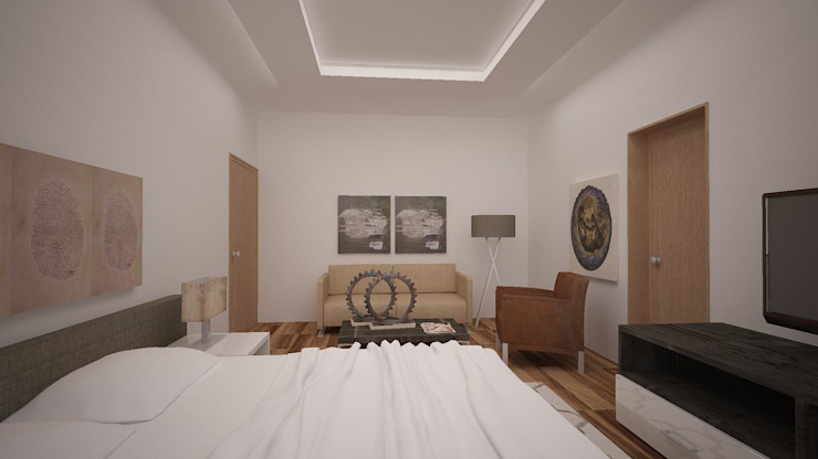 Modern Bedroom by Ana Corcuera Interiorismo Modern