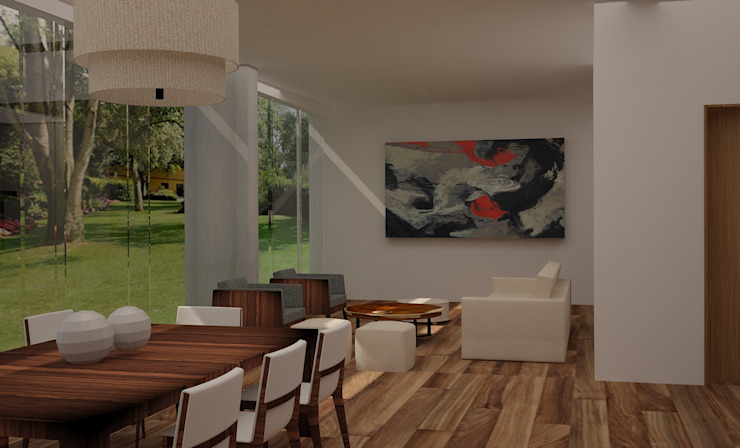 Modern dining room by Ana Corcuera Interiorismo Modern