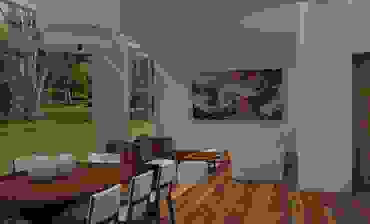 Salas de jantar modernas por Ana Corcuera Interiorismo Moderno