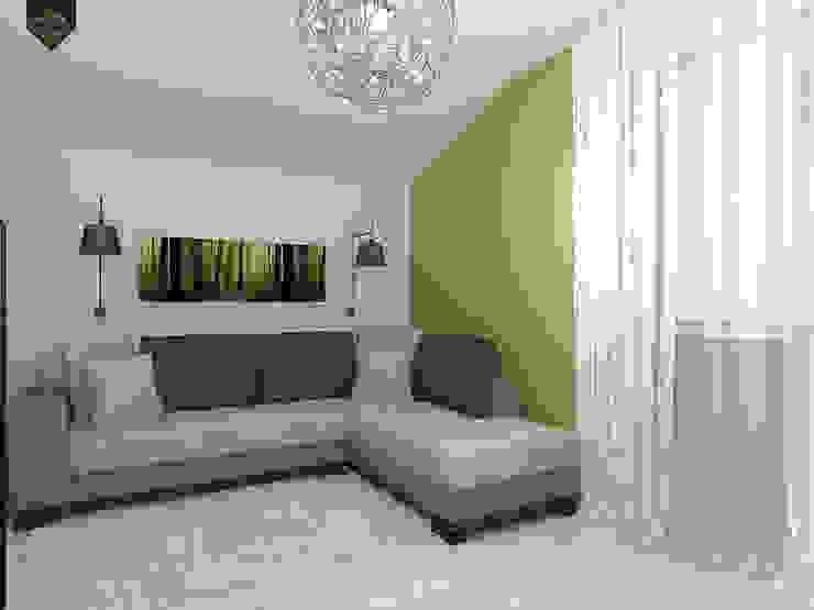 ар деко и поп-арт Медиа комнаты в эклектичном стиле от Decor&Design Эклектичный
