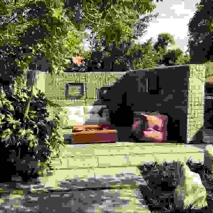 """Designgarten  """" MuGa"""" Grugapark Essen: modern  von Woodzs,Modern"""