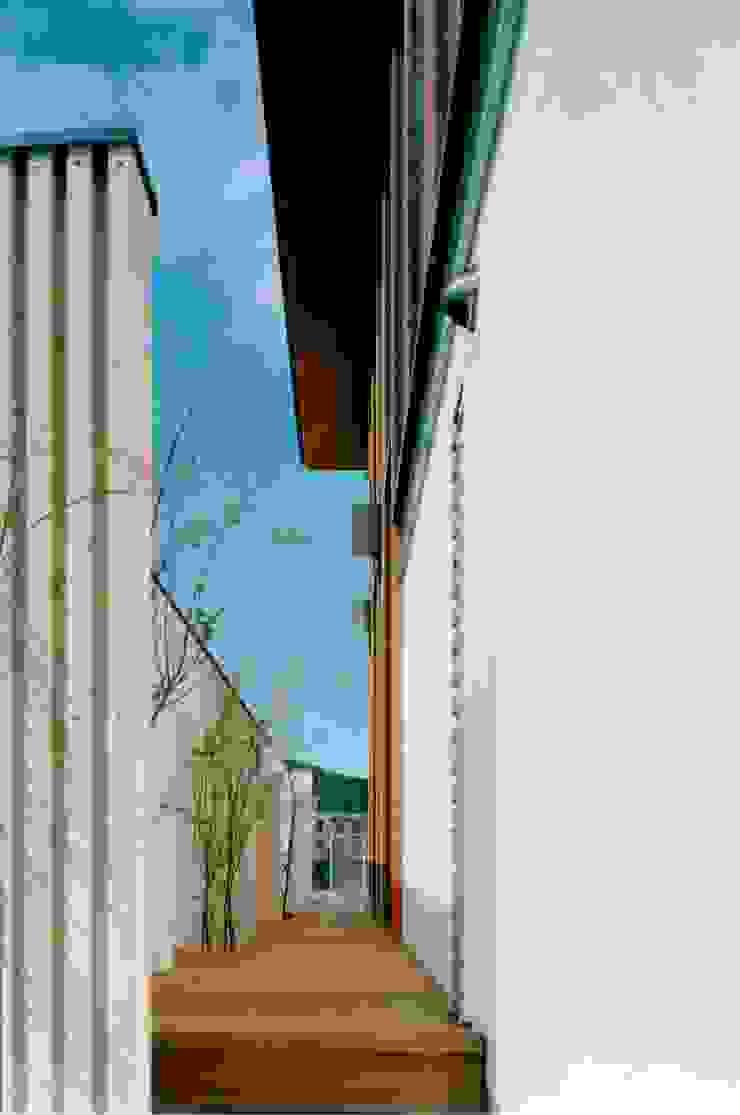 古照の家-kodera no ie- モダンな 家 の 松永鉄快建築事務所 モダン 無垢材 多色
