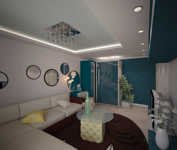 Classic style living room by 3D студия Classic