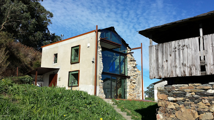 Casas modernas por Tagarro-De Miguel Arquitectos Moderno