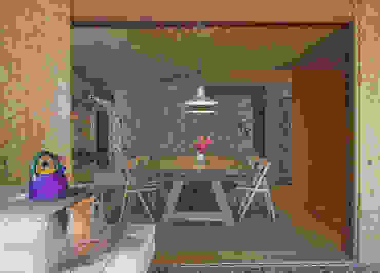 Comedores de estilo  por Carlos Bratke Arquiteto ,