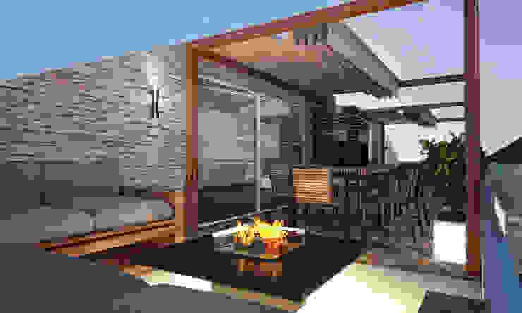 TD HOUSE Modern Balkon, Veranda & Teras BWorks Modern
