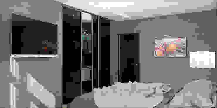 #1 Nowoczesna sypialnia od ARCHE VISTA Nowoczesny