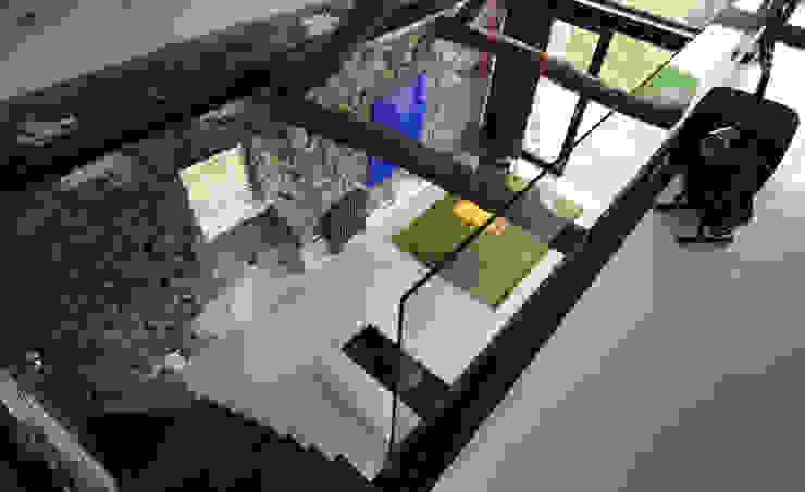 Salas de estar  por Tagarro-De Miguel Arquitectos, Moderno