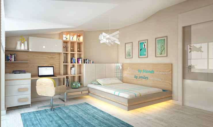 Modern Kid's Room by BWorks Modern