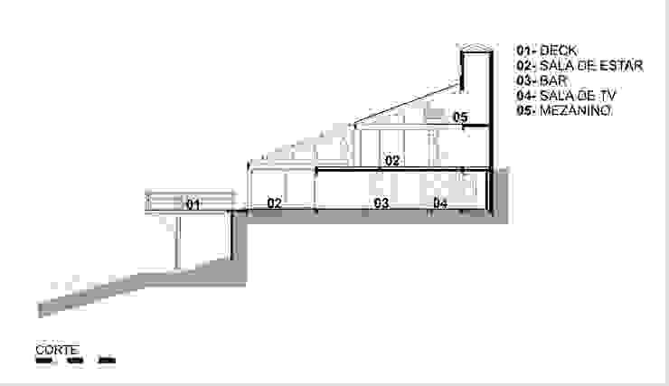 Casa do Arquiteto – Campos do Jordão 2007 por Carlos Bratke Arquiteto