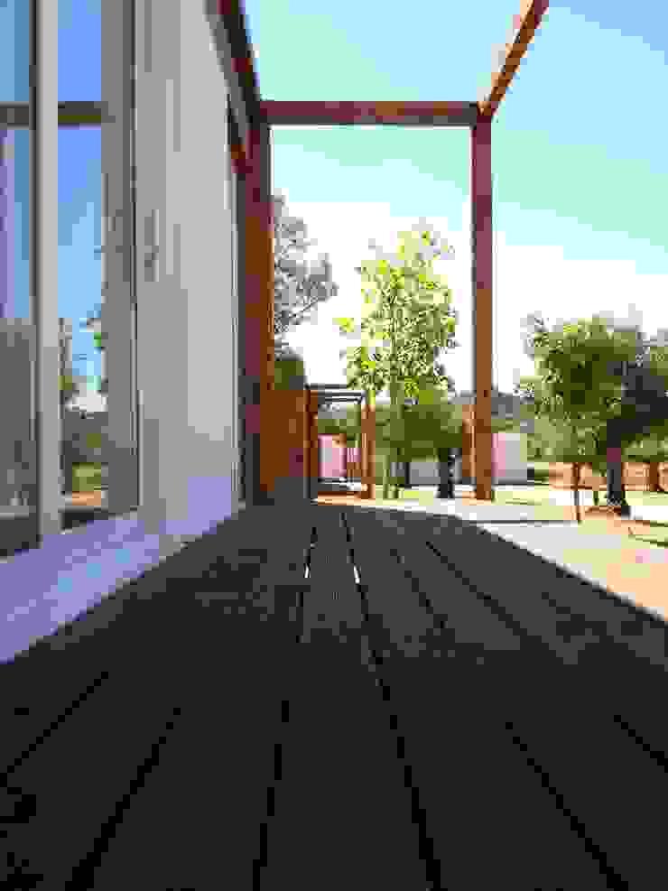 Projecto CM Alcanena Casas rústicas por goodmood - Soluções de Habitação Rústico