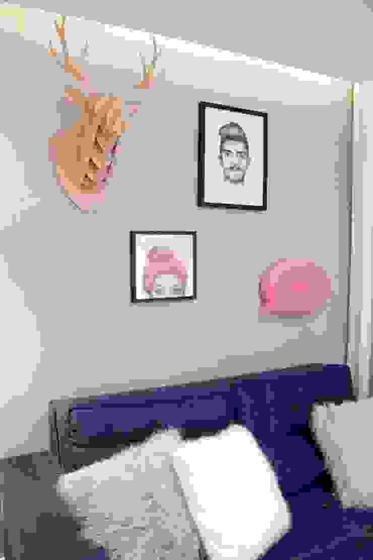 Reforma Apartamento Guarapari Salas de estar modernas por STUDIO 52 Moderno