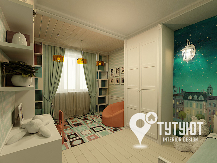 Nursery/kid's room by Interior Design Studio Tut Yut,