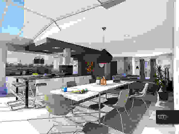 Salas de jantar modernas por atelier AMEG Moderno