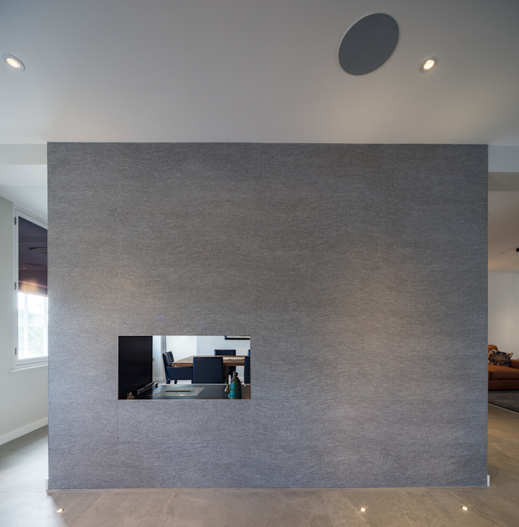 St. Mary Abbots Modern walls & floors by Coupdeville Modern