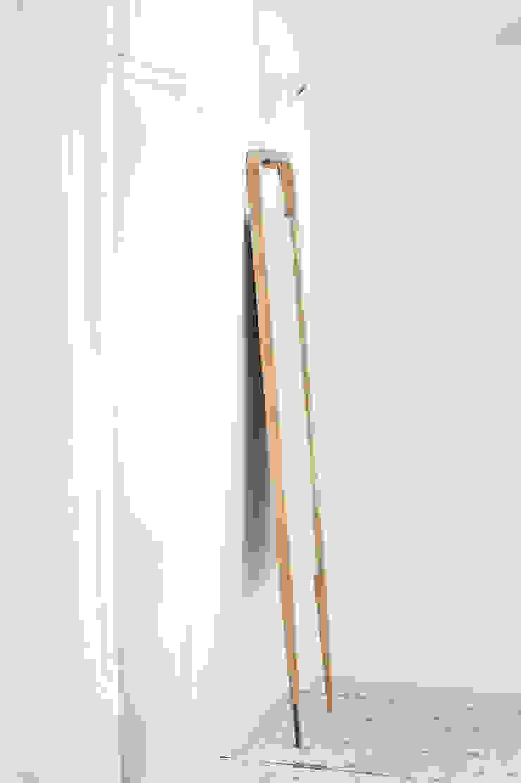 M1 Lustro od Loft Kolasiński Skandynawski Lite drewno Wielokolorowy