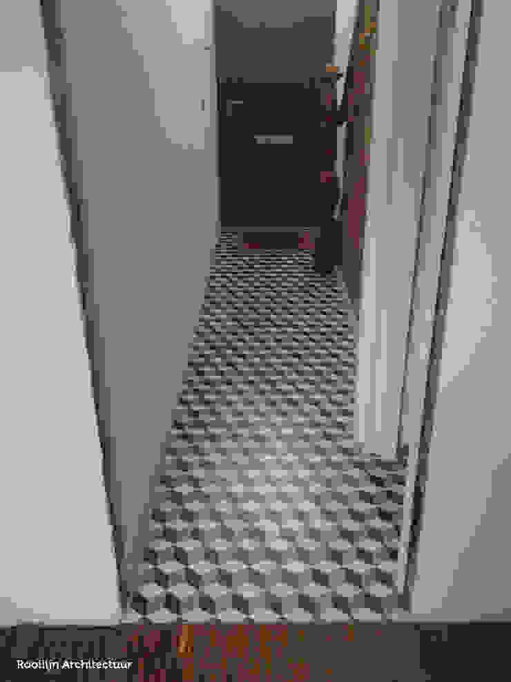 Den Ouden Tegel Country style corridor, hallway& stairs Tiles