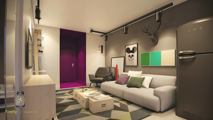 Living room by STUDIO 52,