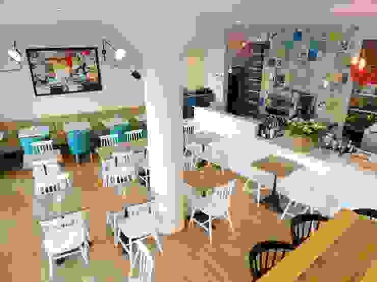 Comedores de estilo  por Den Ouden Tegel, Moderno Azulejos