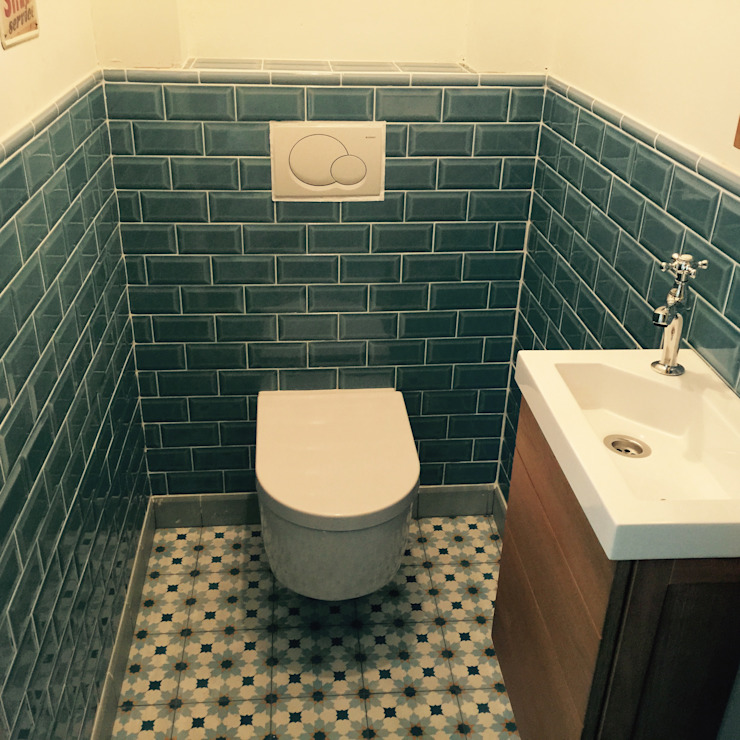 Den Ouden Tegel Country style walls & floors Tiles