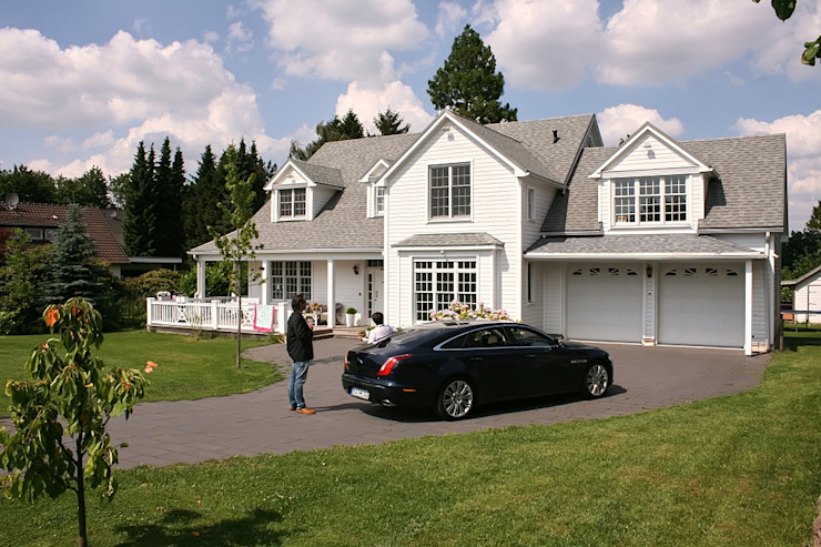 Дома в стиле кантри от THE WHITE HOUSE american dream homes gmbh Кантри
