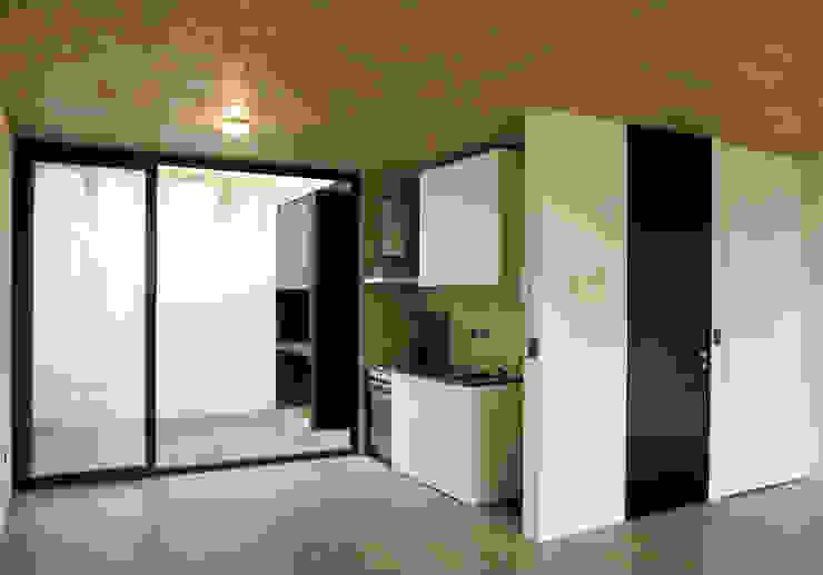 Cocinas modernas de IR arquitectura Moderno Vidrio